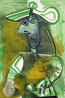 Farewell Femme au Chapeau Picasso 1971 | studio nevin